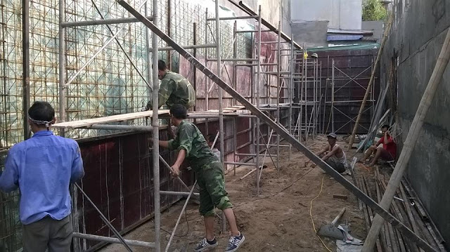 Cốt thép 3d - Tường chịu lực