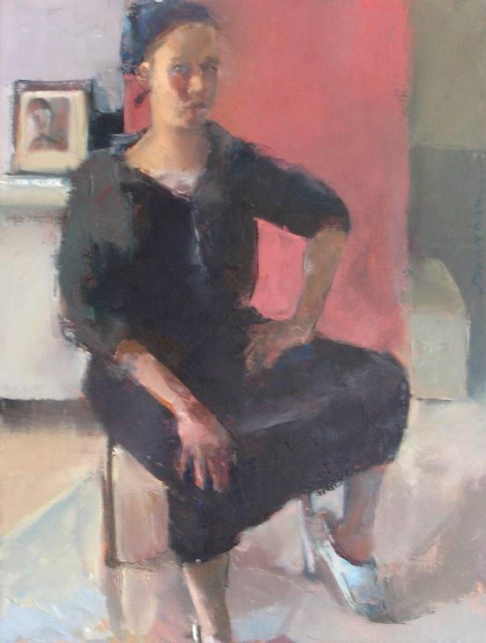 Израильская художница. Hanna Doukhan
