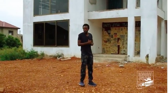 """Watch Episode 1 – """"Kwaw Kese's Reality Show"""", where he talks about living at his friend's while building his $2 million mansion"""