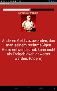 Cicero Zitate Android App