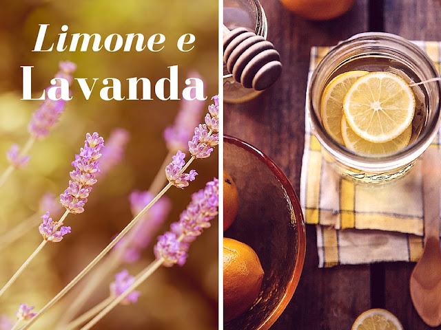 bevanda al limone e lavanda