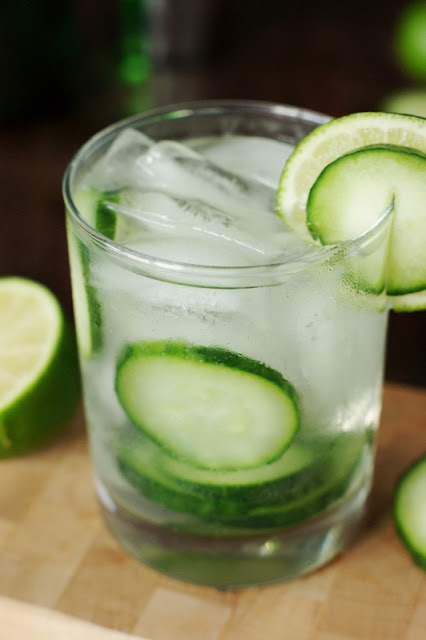 Refreshing Cucumber Gin & Tonic