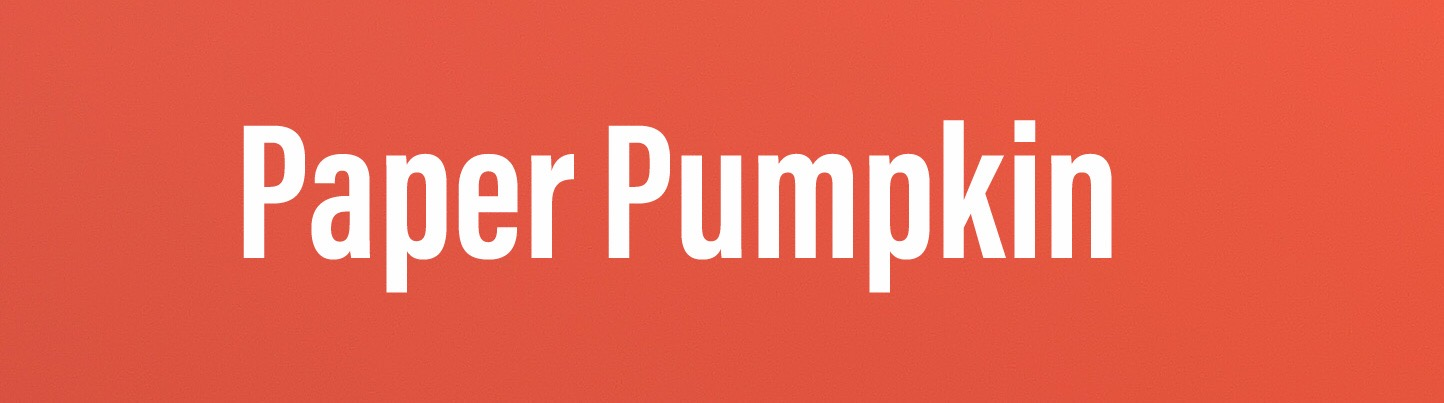 Paper Pumpkin - Fun without the Fuss