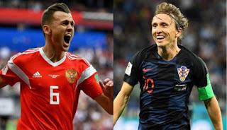 مشاهدة مباراة كرواتيا وروسيا بث مباشر Croatia Vs Russia live اليوم 7-7-2018 كأس العالم روسيا