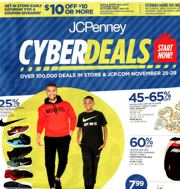 JCPenney Cyber Monday 2017 Ad