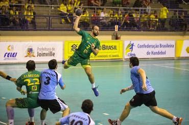 f3a0c827f20c9 Seleção Masculina de Handebol passa tranquila por segundo desafio contra  Uruguai ~ Esporte Cultura