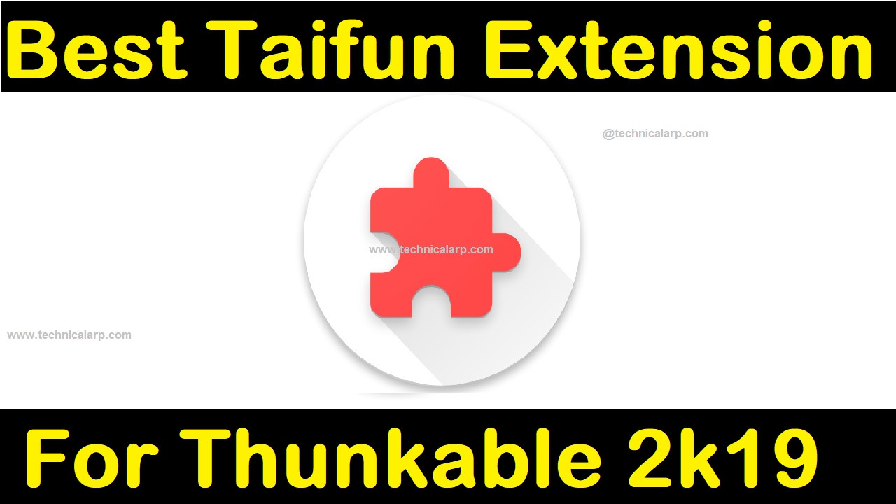 Best Taifun Extension for Thunkable & Makeroid [ Top 30+