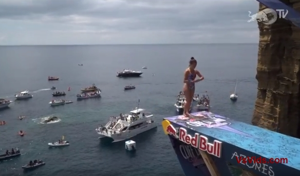 2018 Red Bull Cliff Diving World Series vs. Diving From Volcanic Cliffs Live From Azores, Portugal