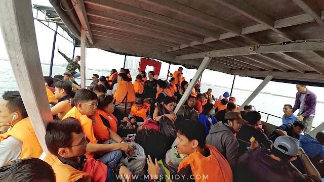 pengalaman naik kapal dari muara angke ke pulau seribu