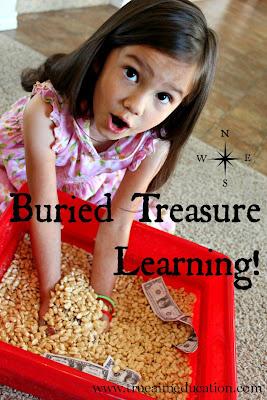 preschool treasure hunt game