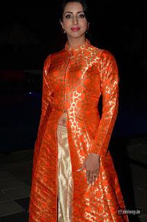 Sanjjanaa Stills at Wedding Wows Fashion Show
