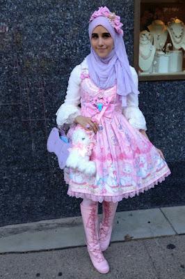 Cewek Hijab Pakai Dress Lolita 86 Cewek Hijab Pakai Dress Lolita 8 in 1