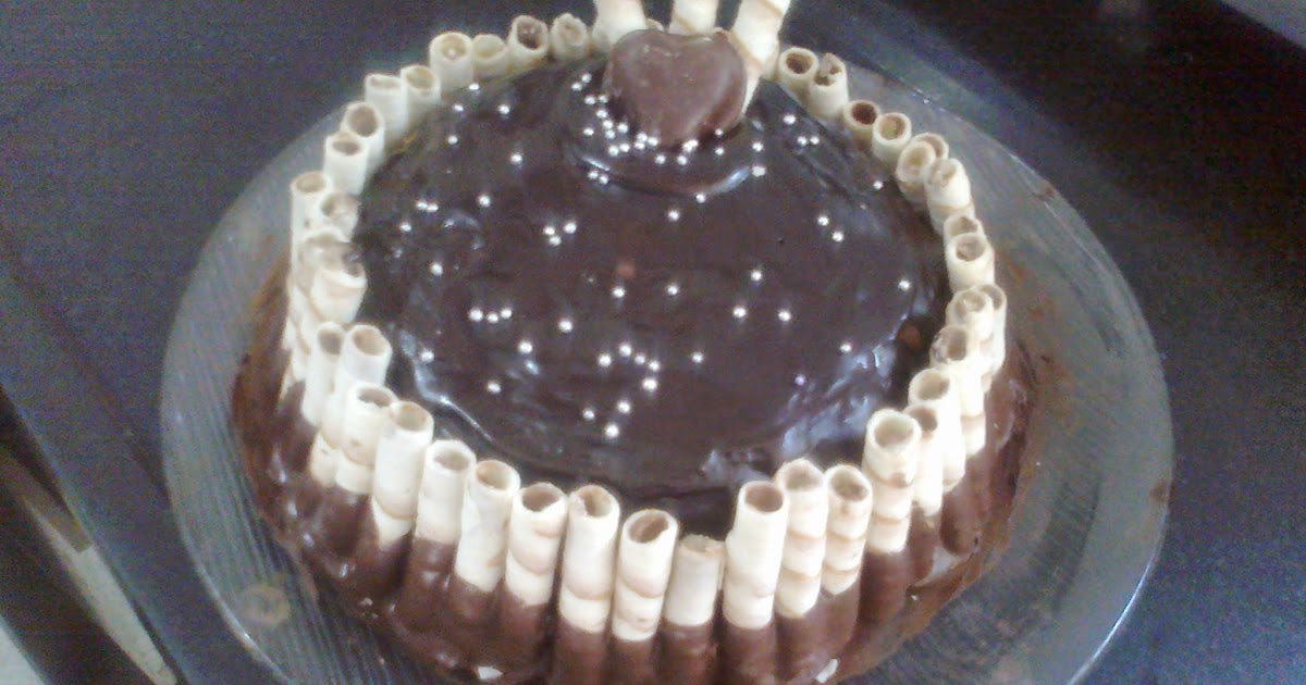 Chocolate Mocha Birthday Cake Recipe
