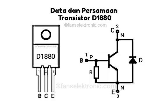 Persamaan Transistor D1880