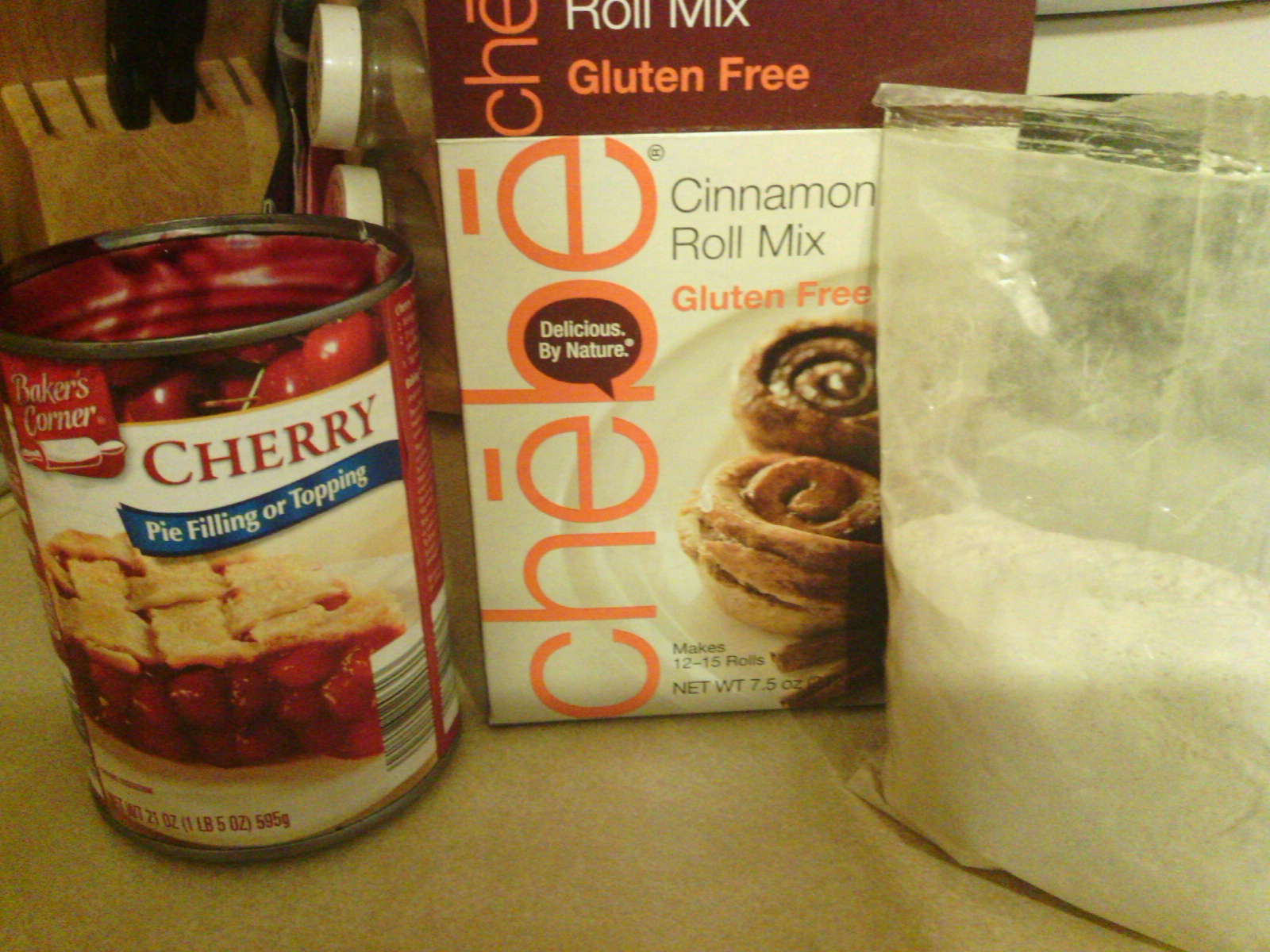 Chebe Cherry Hand Pie Ingredients