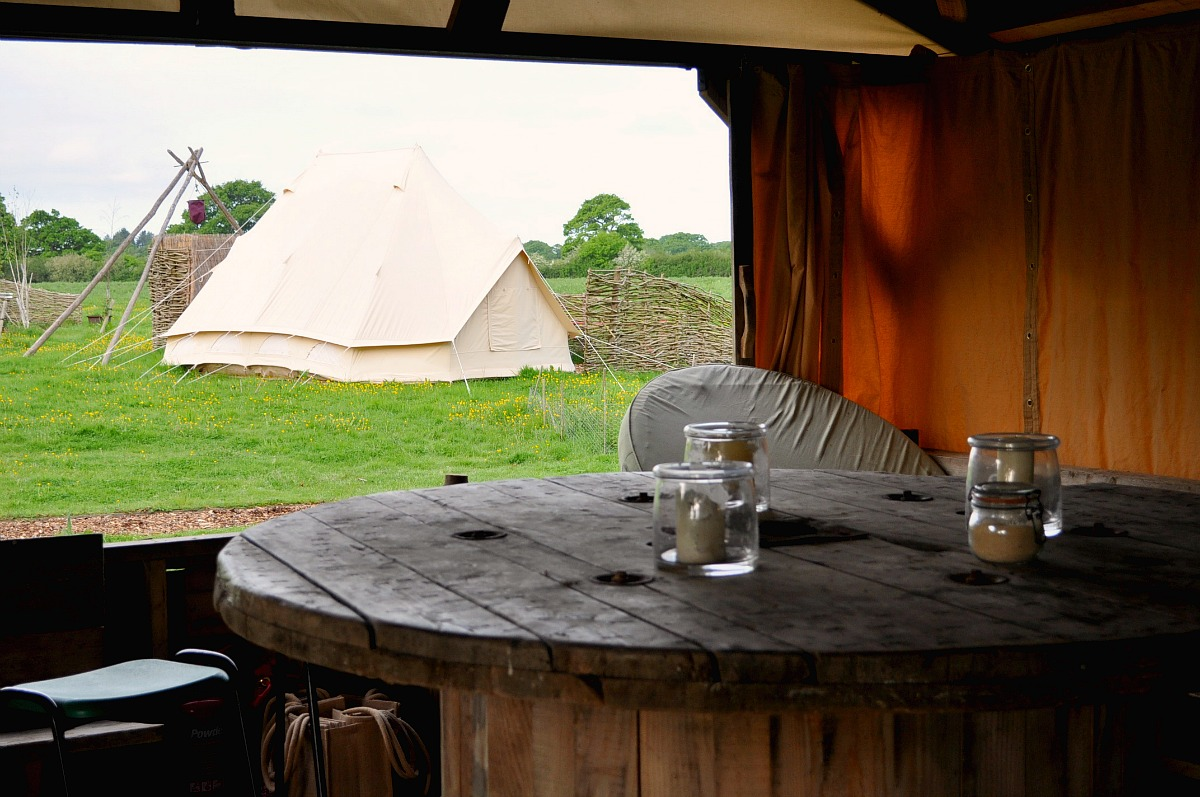 glamping, camping, canopy & stars, knepp wildland safari
