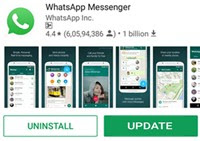 Whatsapp for social network chat