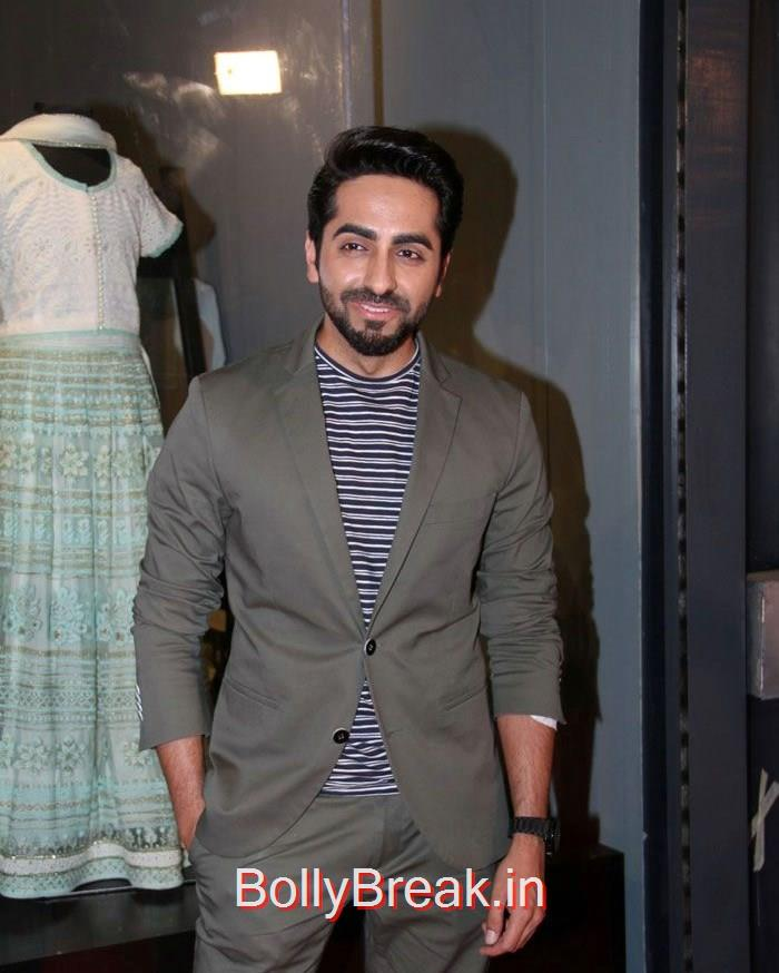 Ayushmann Khurrana, Celebs At Amy Billimoria's House of Design Store Launch