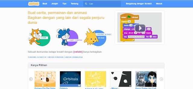 Situs Belajar Bahasa Pemrograman Untuk Anak-Anak