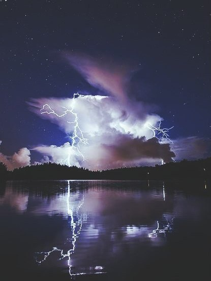 A truly fascinating spectacle Lightning Live 1