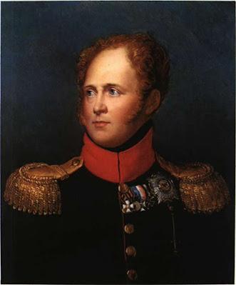 Αλέξανδρος Α' Τσάρος της Ρωσίας. Ελαιογραφία του Baron Gerard (Λωζάννη, Musee Cantonal)