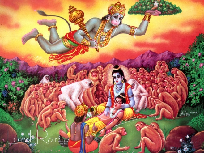 ramayana story with pictures pdf
