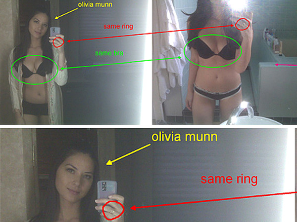 Congratulate, this olivia munn hacked nude cell phone know, you