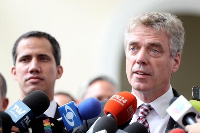 Kriener, embajador alemán: Maduro quiso sugerirnos que la crisis humanitaria era una invención