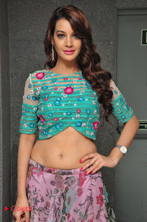 Actress Deeksha Panth  Picture Gallery at Chal Chal Gurram Audio Release  0006