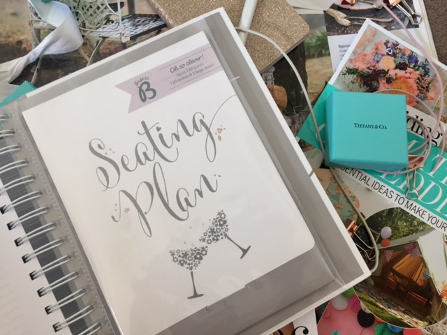 wedding planning stationary
