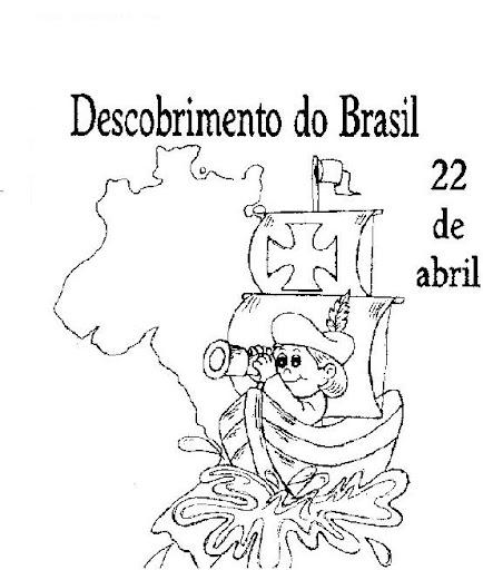 60 Atividades Descobrimento Do Brasil E Desenhos Para Colorir