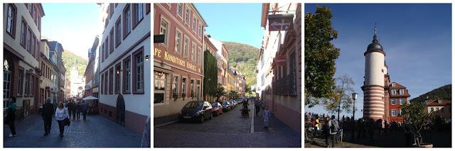 andando pelas ruas de Heidelberg