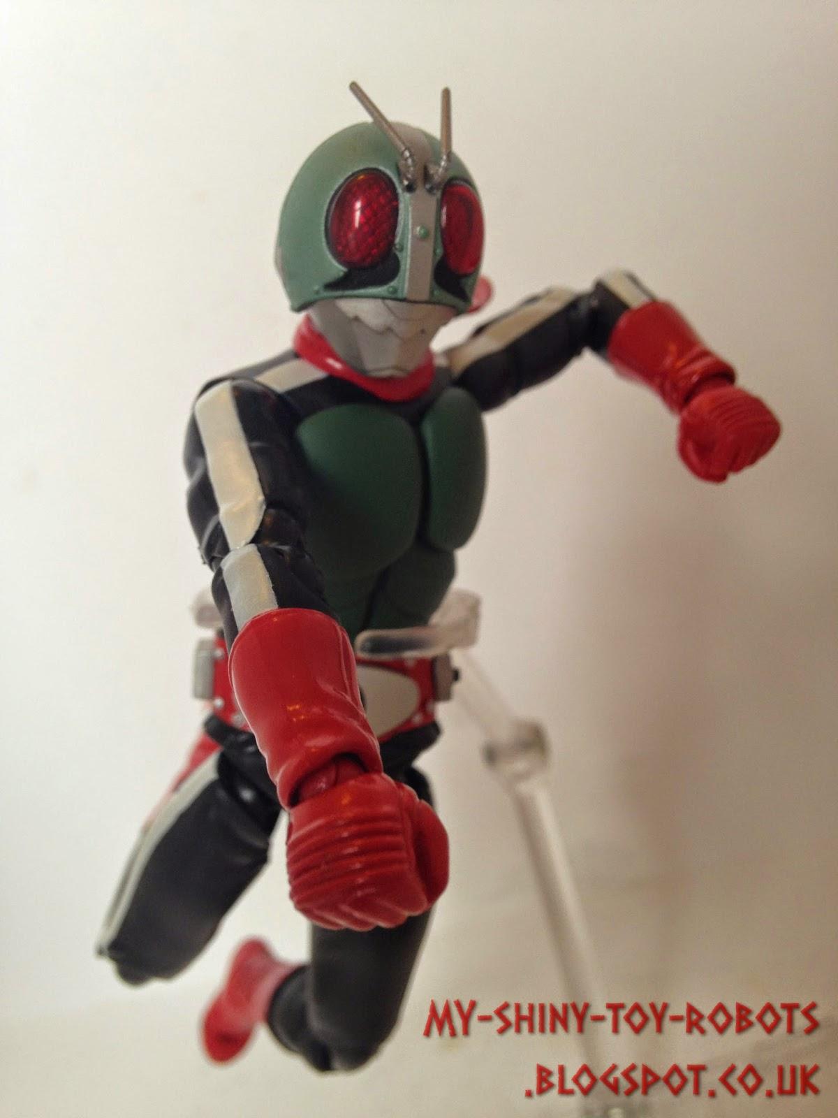 Flying Rider punch!