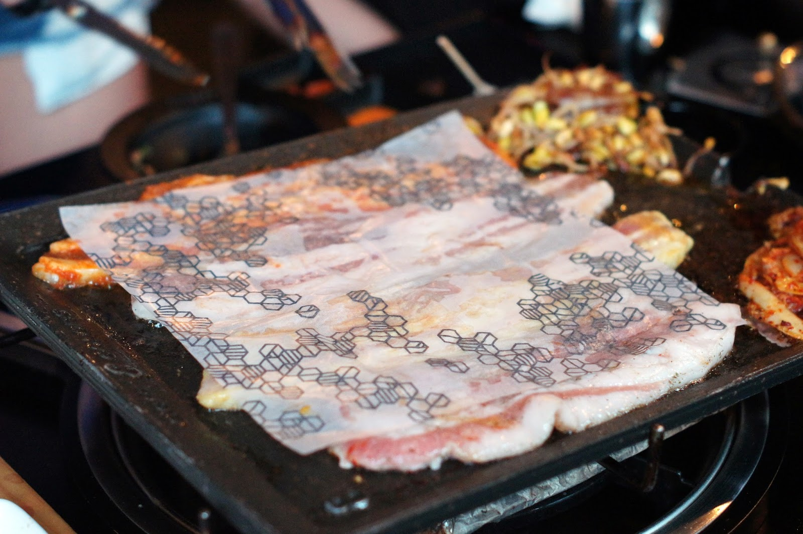 how to prepare rice paper for korean bbq