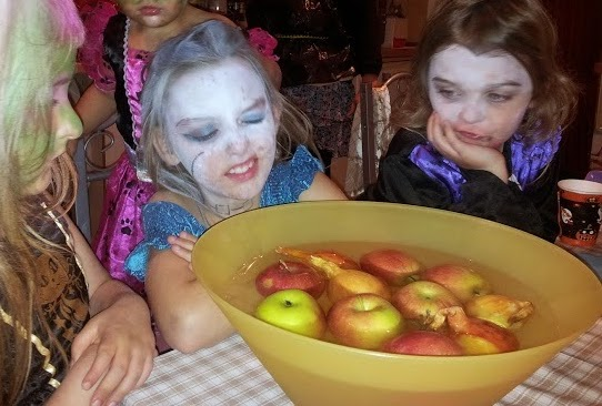 Halloween 2013 Party  Friends Family Apple Bobbing