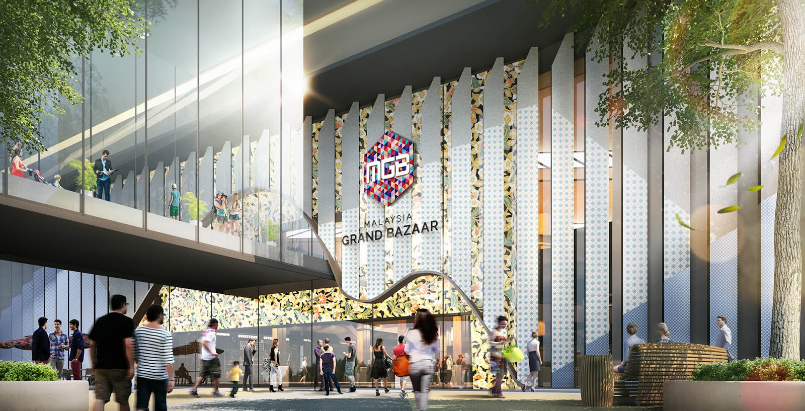 Kemudahan Pinjaman Kepada Usahawan Untuk Berniaga Di Malaysia Grand Bazaar (MGB)