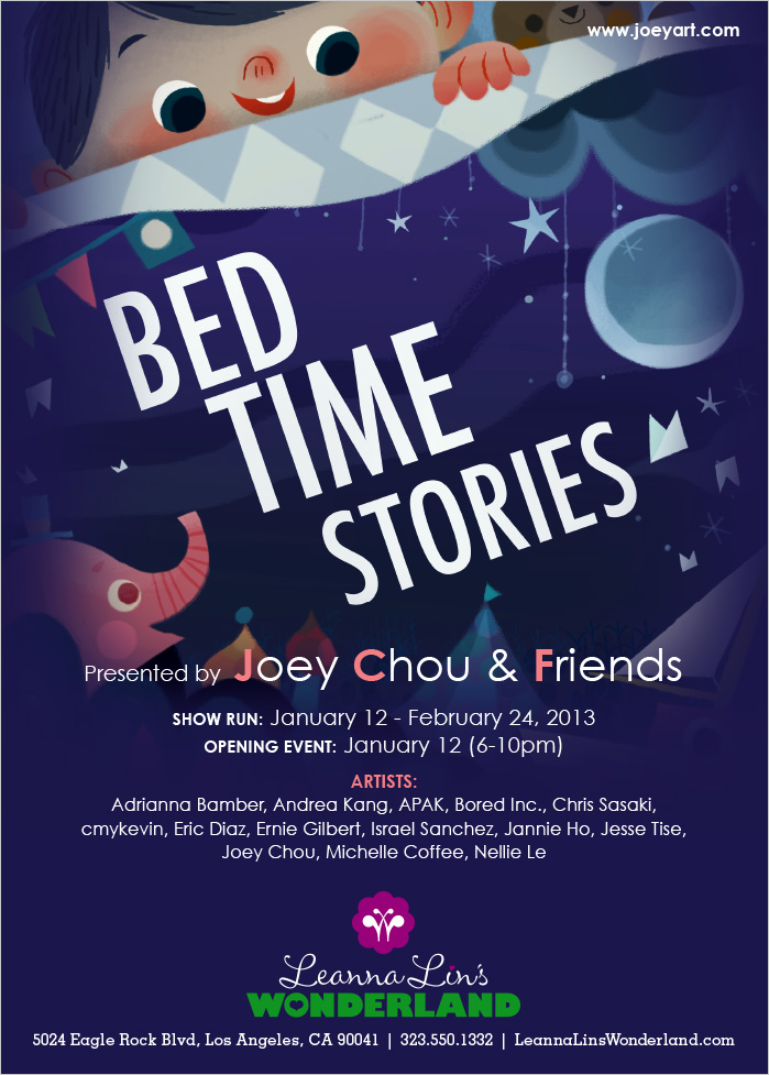 Joey art bedtime stories show for Bed stories online