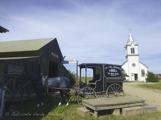 1880 Town - Dakota del Sur, Caballeriza