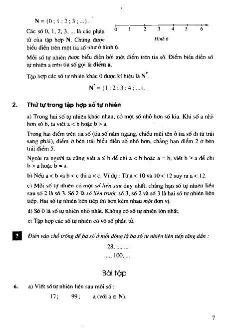 Trang 8 sach Sách giáo khoa Toán 6 Tập 1