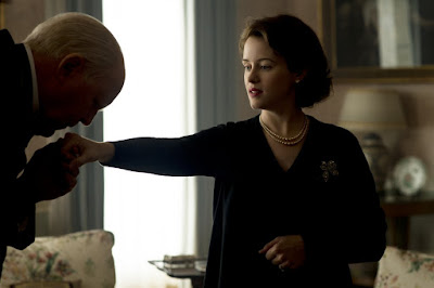 John Lithgow and Claire Foy in The Crown (09)