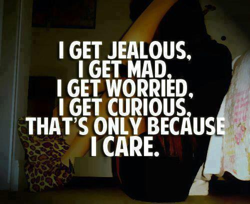 Why are guys jealous