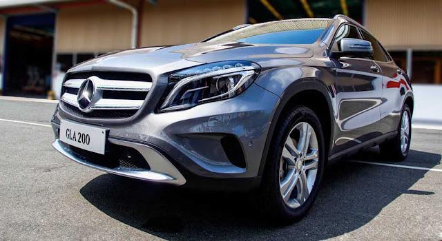 Mercedes GLA 200 2018 sở hữu kích thước lớn hơn rất nhiều so với các đối thủ cùng phân khúc