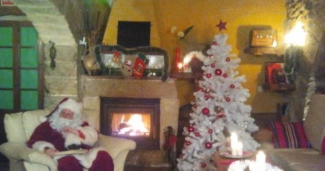 Turismo rural art rustic la magia de la navidad en una casa rural - Casa rural navidad ...