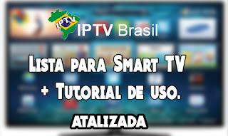 Lista para Smart TV SS IPTV M3U BRASIL HD 2016 (Atualizada 13/04/2016) .