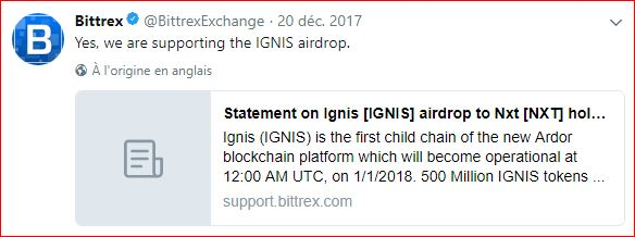 airdrop ignis