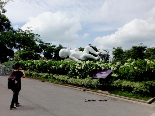 Planet Statue, Marc Quinn, Gardens by The Bay, Singapura, Traveling