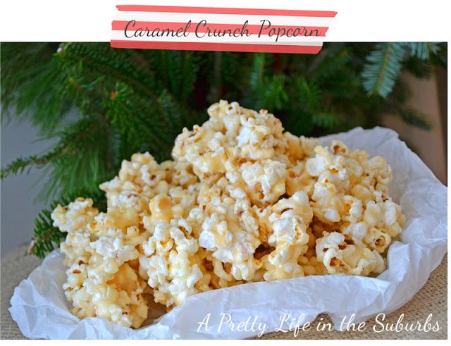 Caramel Crunch Popcorn