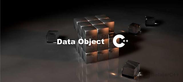Pengertian Data Objek C++ - Belajar C++