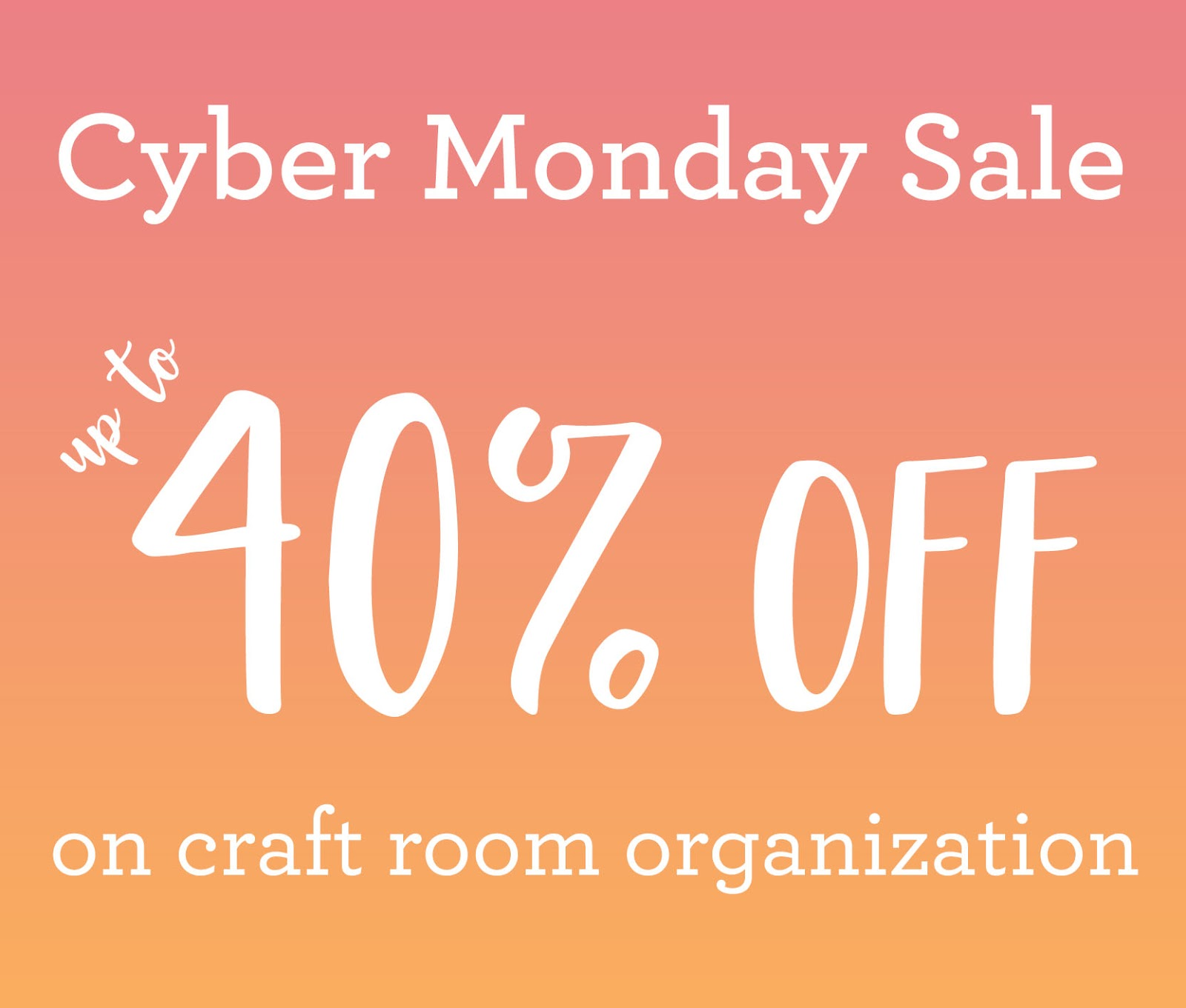 f85bbdd55 We are holding a one-day flash sale to celebrate Cyber Monday! The sale  will give you a chance to purchase our Workspace Wonder items at 30% off  for ...