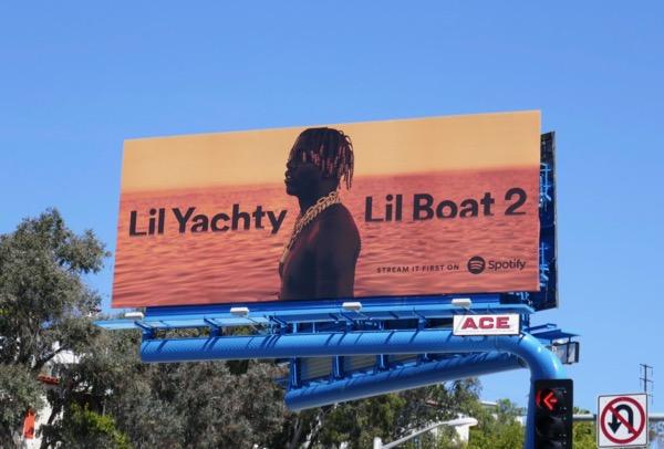 Lil Yachty Lil Boat 2 Spotify billboard